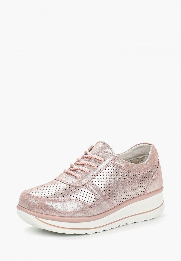 Фото 2 - Кроссовки Madella розового цвета