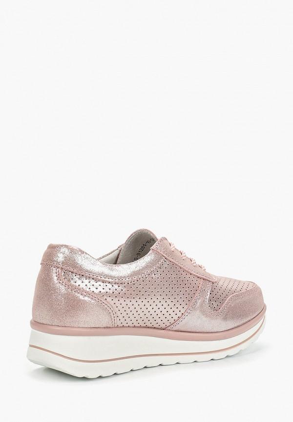 Фото 3 - Кроссовки Madella розового цвета