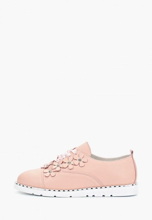 женские ботинки madella, розовые