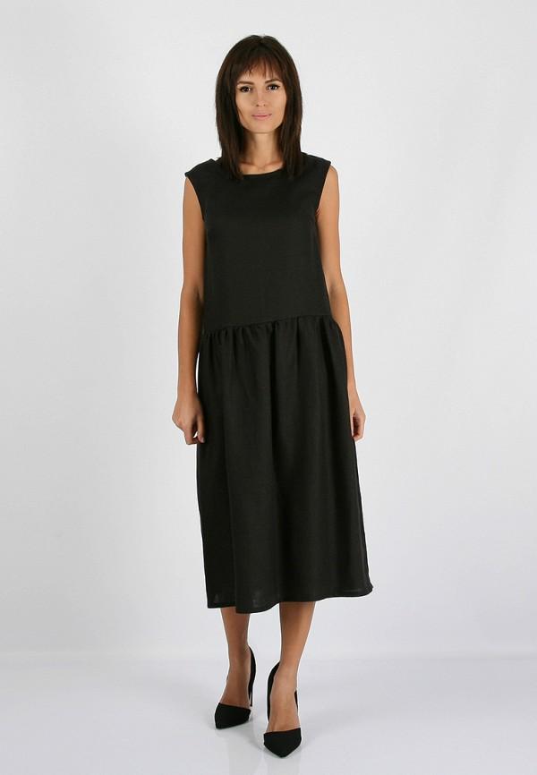 женское повседневные платье morandi, черное