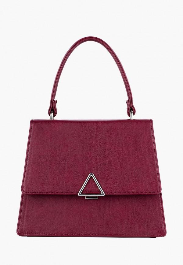женская сумка arny praht, бордовая