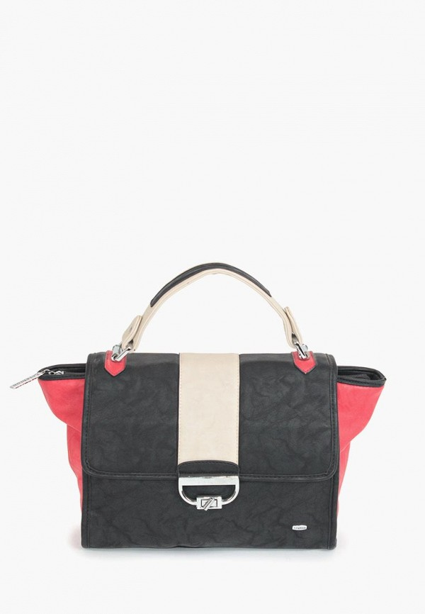 женская сумка leighton, черная