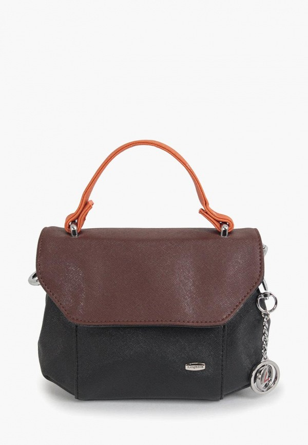 женская сумка leighton, коричневая