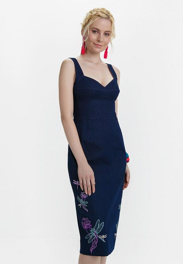 Платье джинсовое Audrey Right Audrey Right MP002XW15GCC