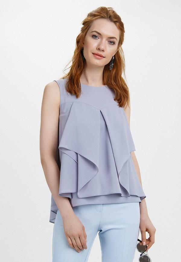 Купить Блуза Audrey Right, MP002XW15GCY, серый, Весна-лето 2018