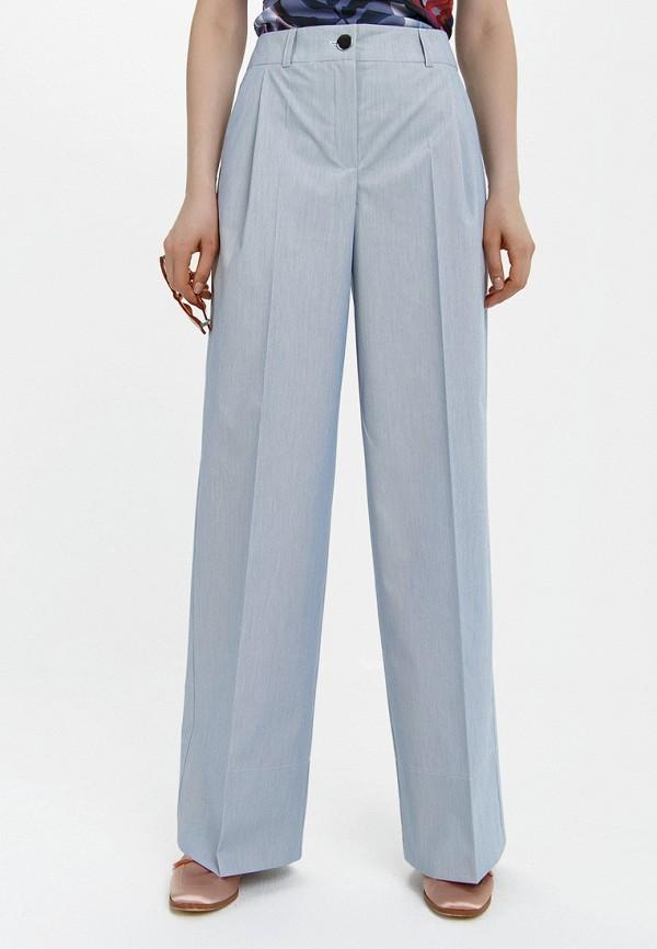 женские брюки клеш audrey right, голубые