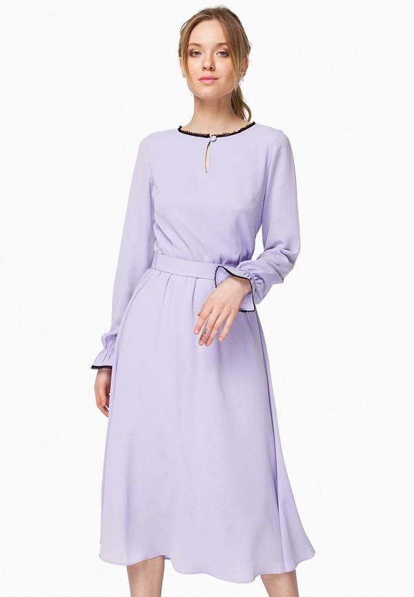 женское вечерние платье nai lu-na by anastasia ivanova, фиолетовое