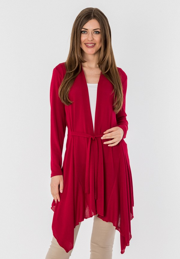женский кардиган s&a style, бордовый