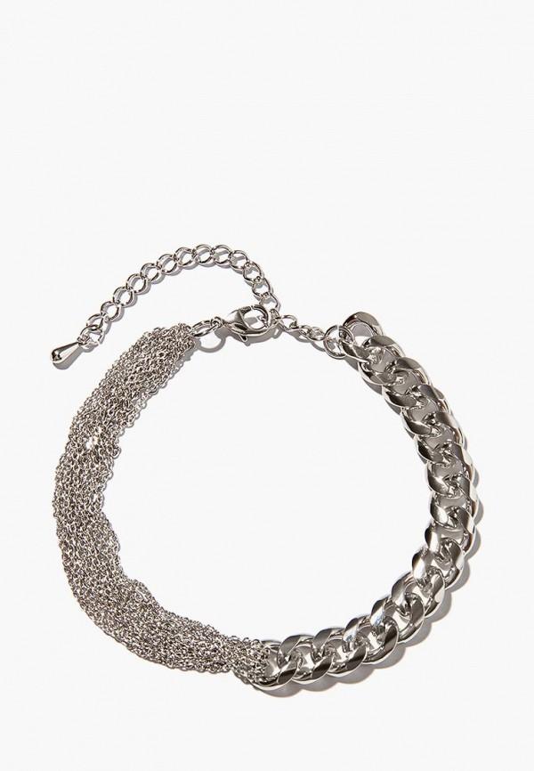 Браслет Exclaim Exclaim MP002XW15H1S браслеты exclaim незамкнутый браслет из витого серебра с цирконами