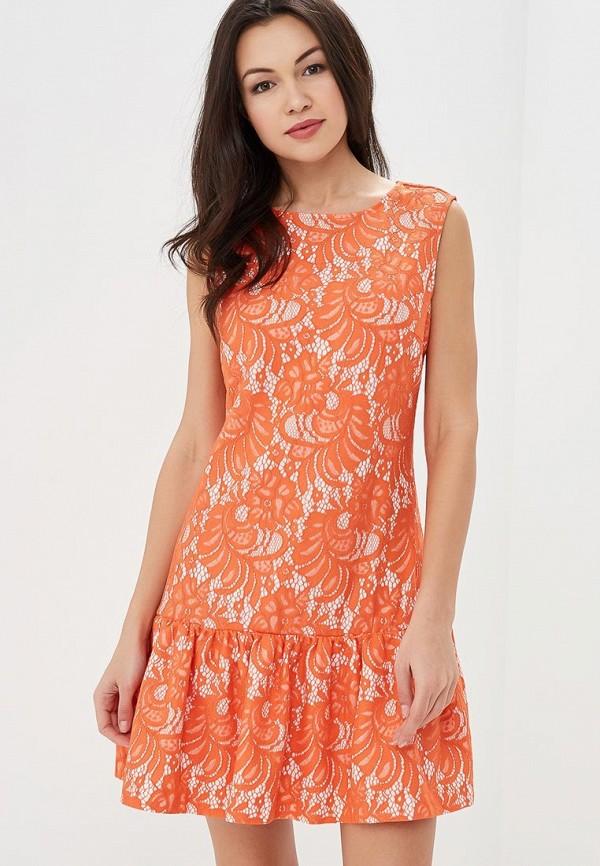 Купить Платье Incity, mp002xw15h4d, коралловый, Осень-зима 2018/2019