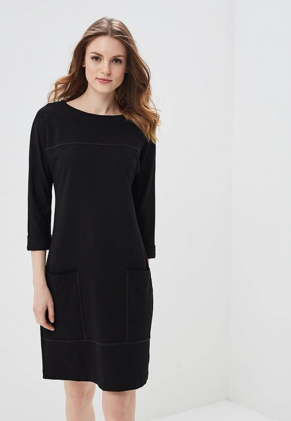 женское повседневные платье ruxara, черное