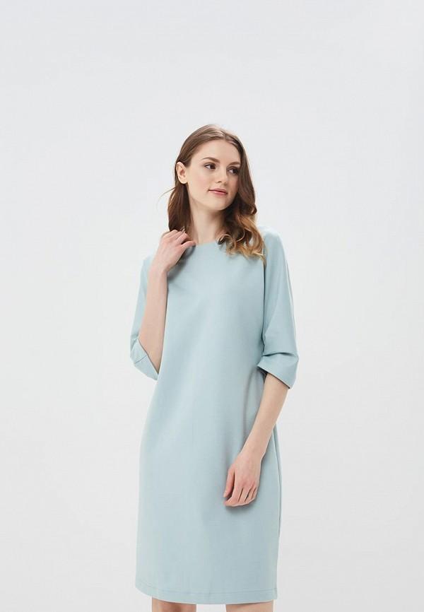 женское повседневные платье ruxara, бирюзовое