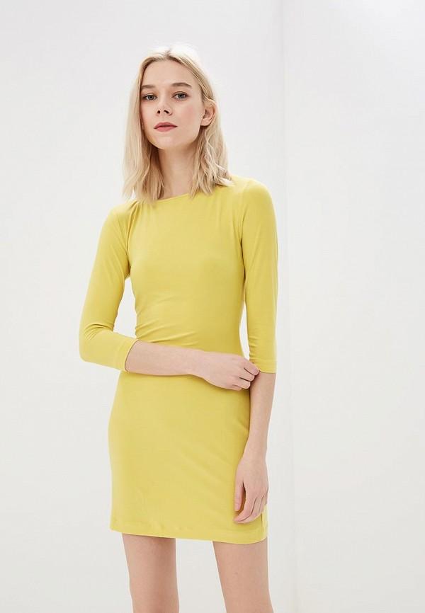 женское повседневные платье ruxara, желтое