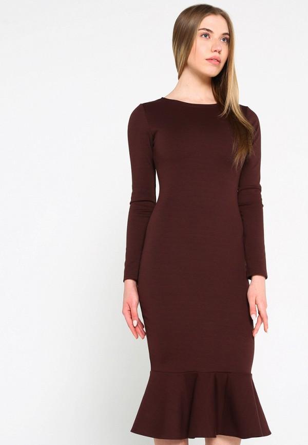 Купить Платье Malaeva, MP002XW15HPP, коричневый, Весна-лето 2018