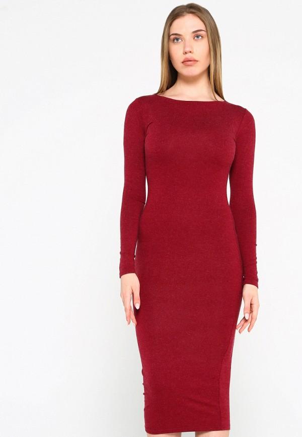 Платье Malaeva, MP002XW15HPZ, бордовый, Весна-лето 2018  - купить со скидкой