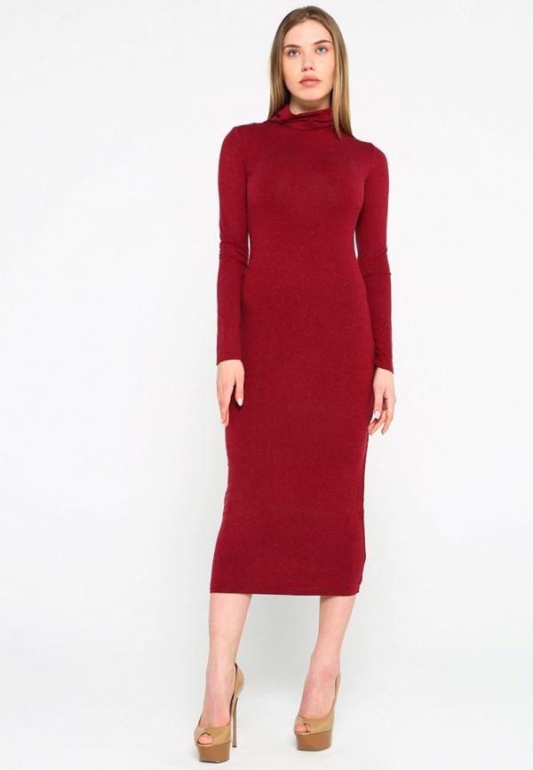 Купить Платье Malaeva, mp002xw15hq2, бордовый, Весна-лето 2018