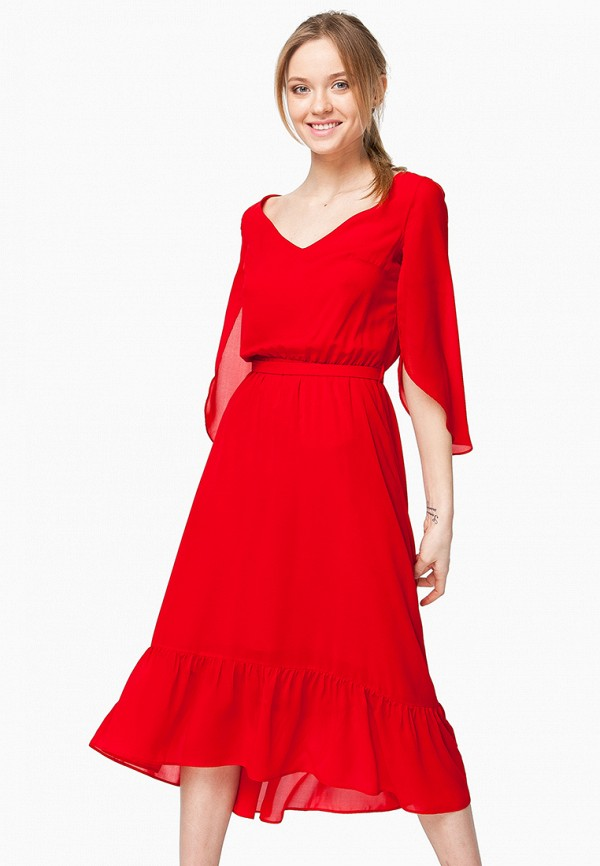 Купить Платье Nai Lu-na by Anastasia Ivanova, mp002xw15hsb, красный, Весна-лето 2018