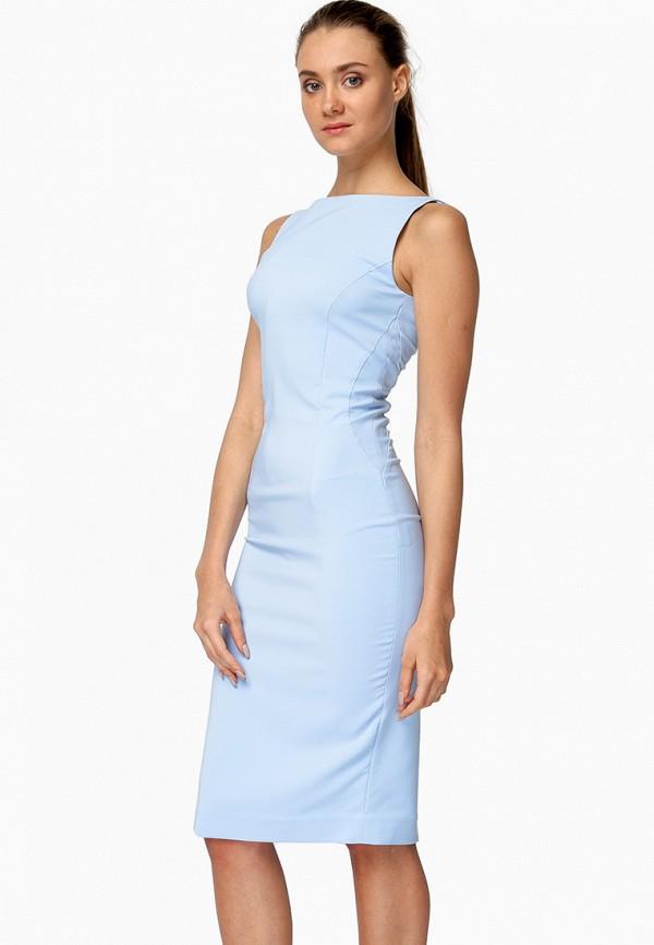 женское повседневные платье nai lu-na by anastasia ivanova, голубое