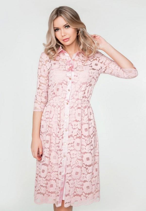 Купить Платье SoloU, mp002xw15huk, розовый, Весна-лето 2018