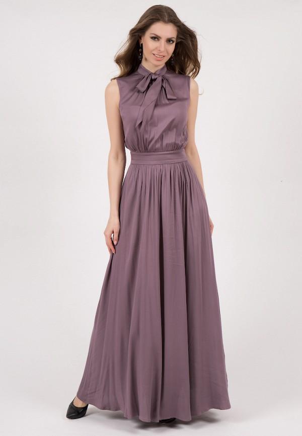 женское платье макси olivegrey, фиолетовое