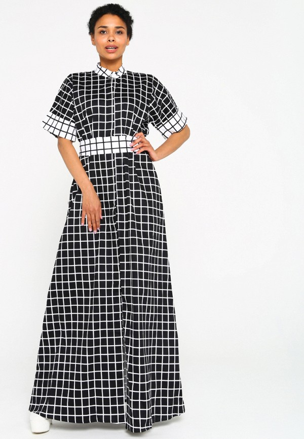 Купить Платье Malaeva, MP002XW15I49, черный, Весна-лето 2018