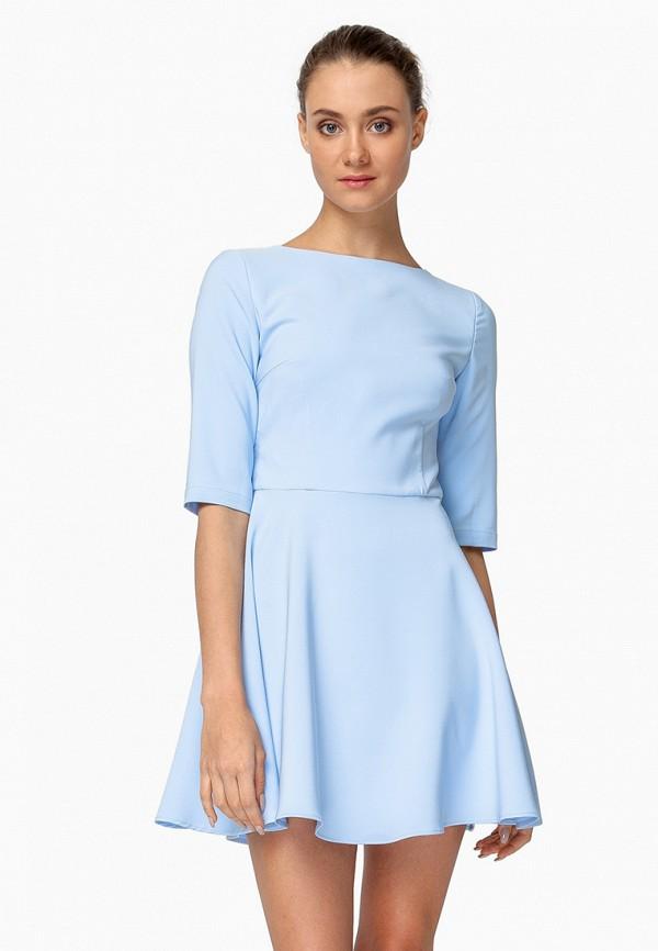 женское вечерние платье nai lu-na by anastasia ivanova, голубое