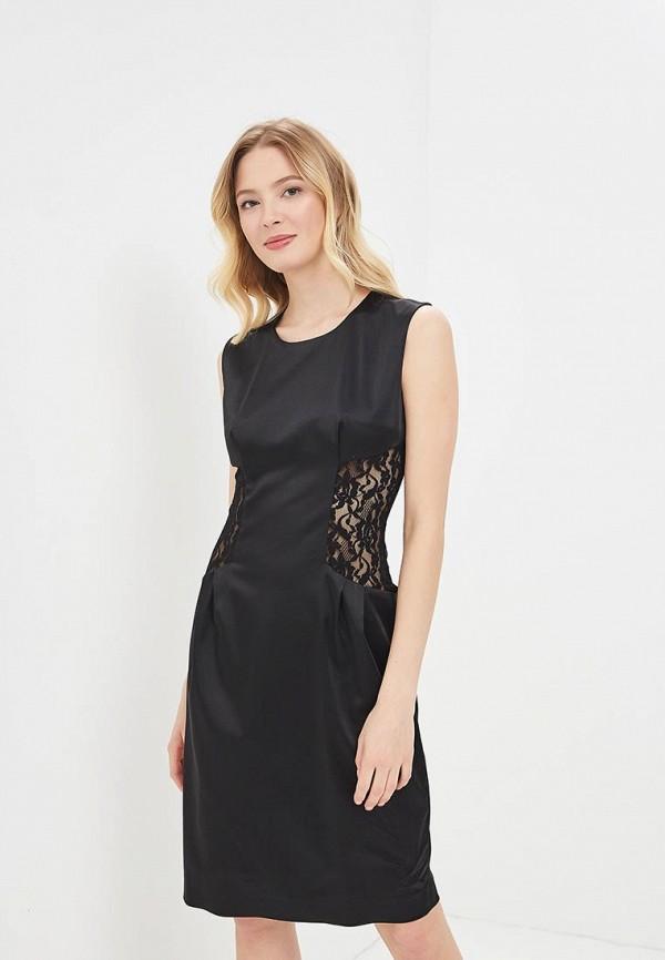 Платье Galina Vasilyeva, MP002XW15IF3, черный, Весна-лето 2018  - купить со скидкой