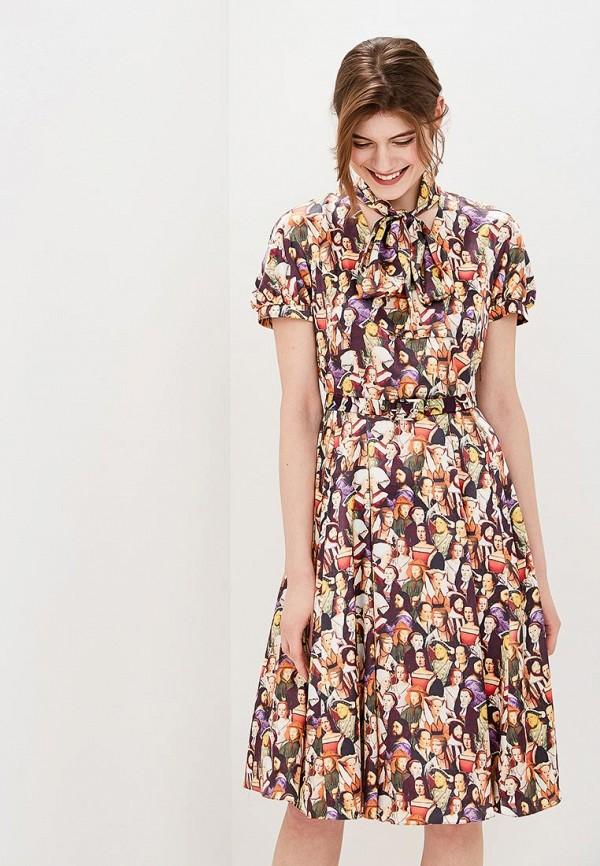 Платье Galina Vasilyeva Galina Vasilyeva MP002XW15IFY цена
