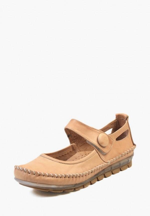 женские туфли airbox, бежевые