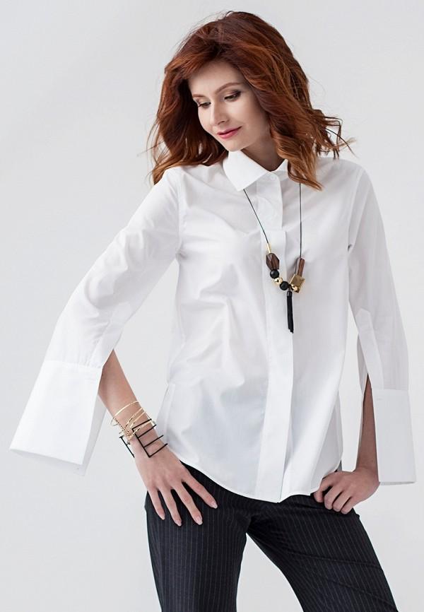 Купить женскую рубашку Strygina белого цвета