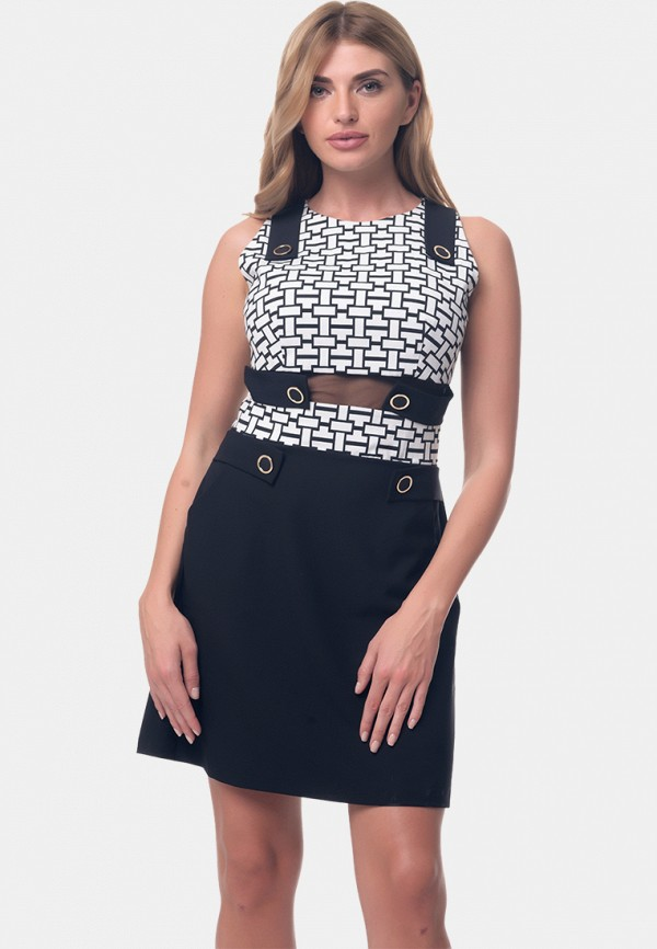 женское платье мини arefeva, разноцветное