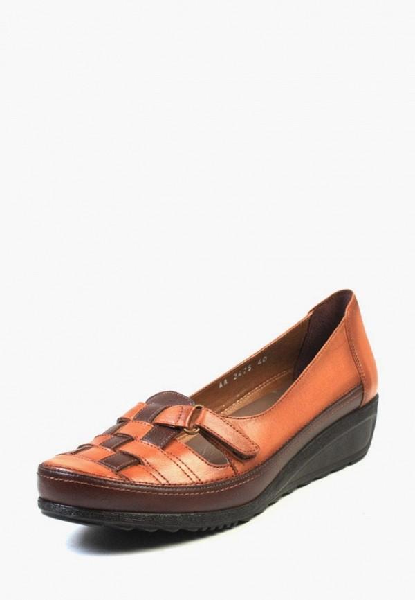 женские туфли airbox, коричневые