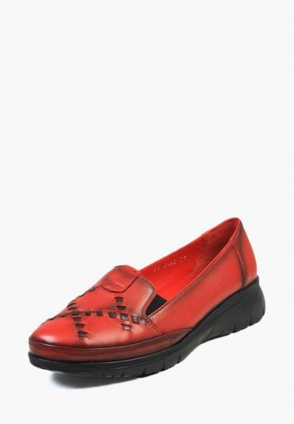 женские туфли airbox, красные