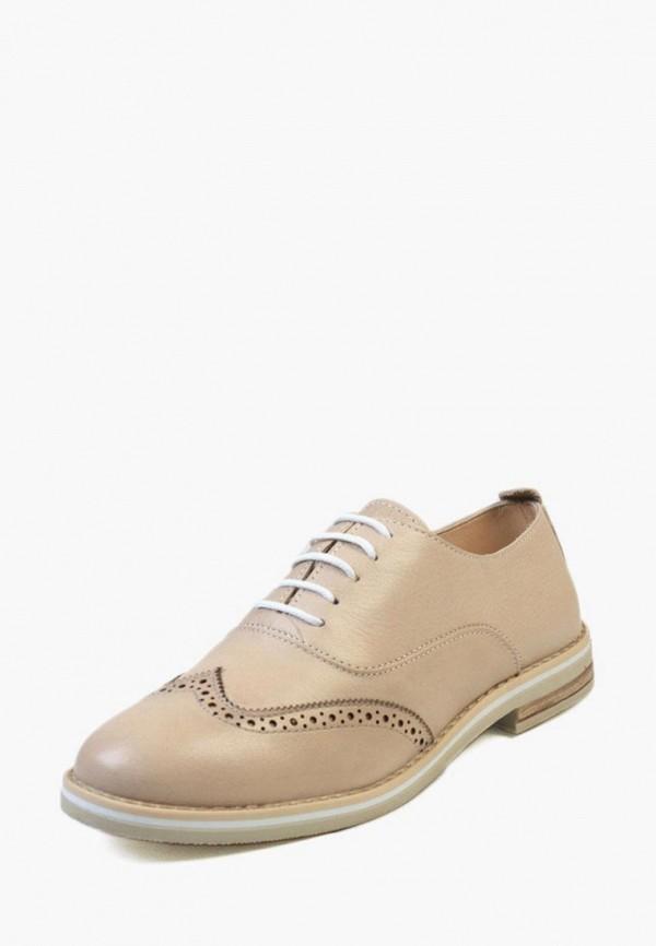 женские ботинки airbox, бежевые