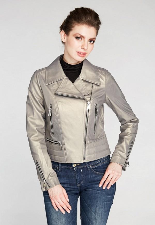Купить Куртка кожаная Mondial, mp002xw15iqk, серый, Весна-лето 2018