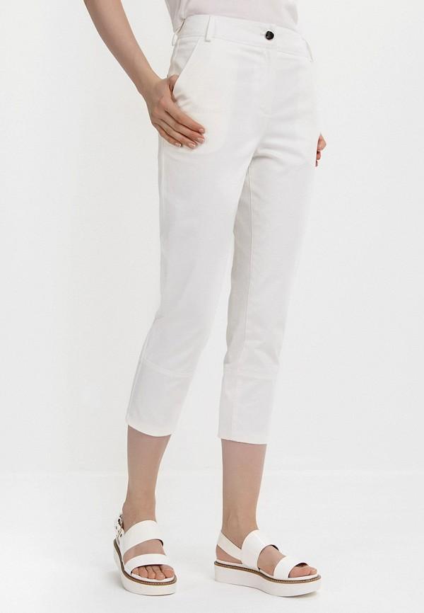 женские прямые брюки audrey right, белые