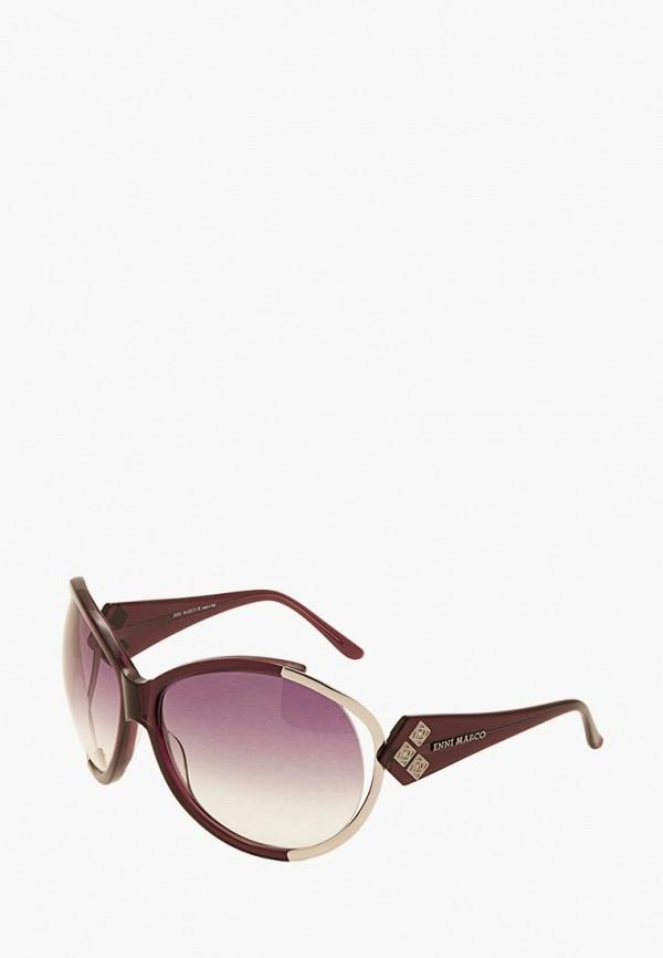 женские солнцезащитные очки enni marco, бордовые