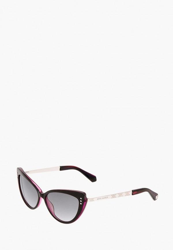 женские солнцезащитные очки enni marco, фиолетовые