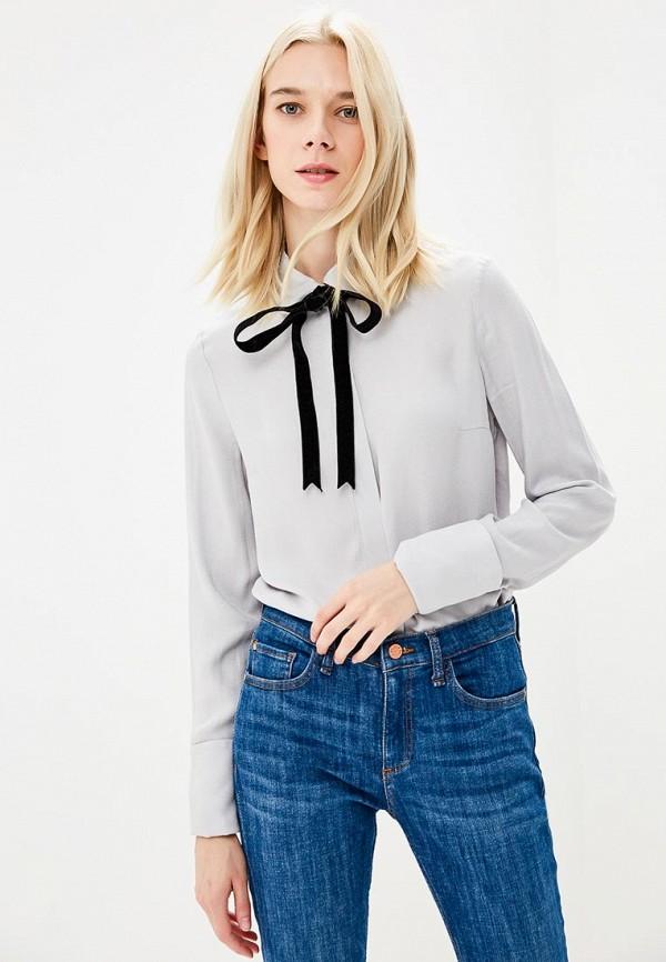 женская блузка ksenia knyazeva, серая