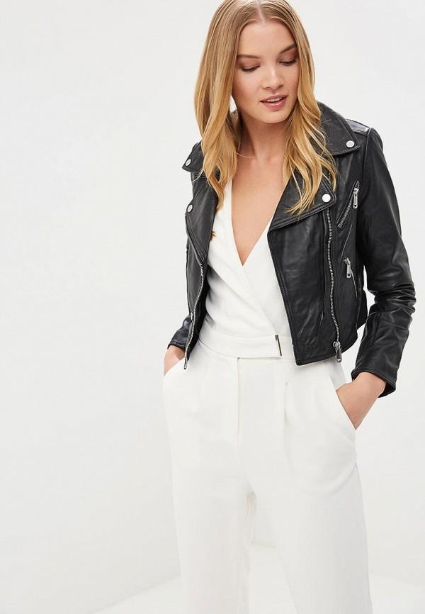 купить Куртка кожаная La Reine Blanche La Reine Blanche MP002XW15J59 по цене 13990 рублей