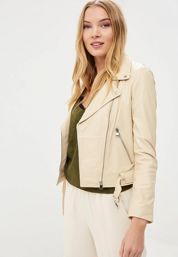 купить Куртка кожаная La Reine Blanche La Reine Blanche MP002XW15J5G по цене 7990 рублей