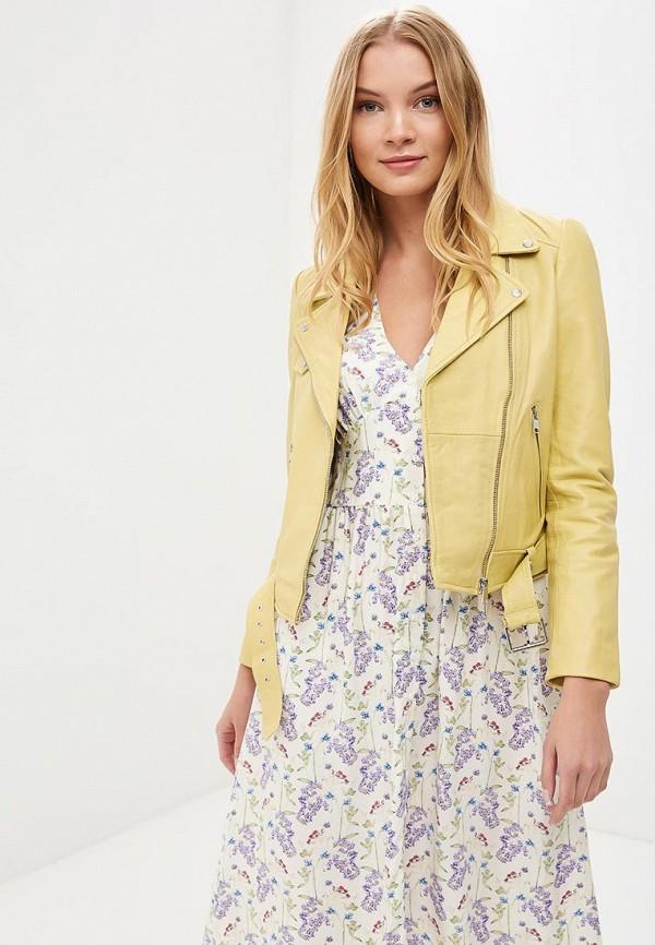 Куртка кожаная La Reine Blanche La Reine Blanche MP002XW15J5H