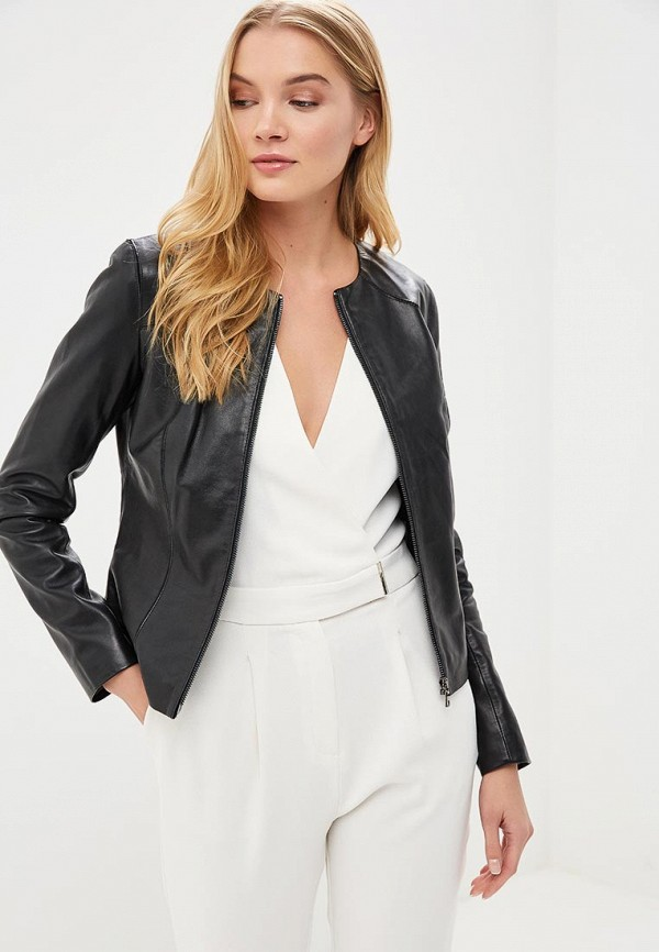 купить Куртка кожаная La Reine Blanche La Reine Blanche MP002XW15J5N по цене 18990 рублей