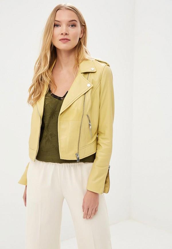 Куртка кожаная La Reine Blanche La Reine Blanche MP002XW15J5O недорго, оригинальная цена