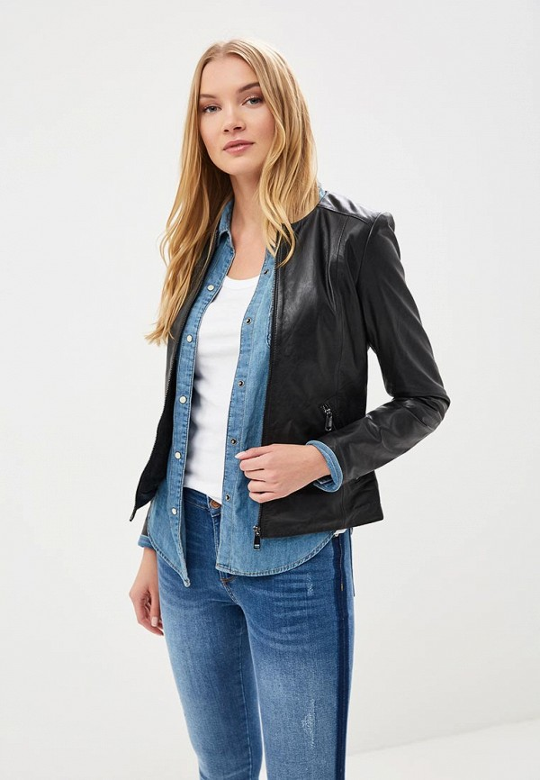 купить Куртка кожаная La Reine Blanche La Reine Blanche MP002XW15J5Q по цене 13990 рублей