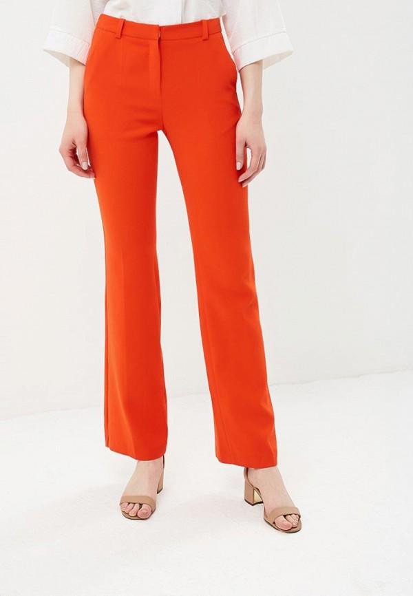 женские брюки клеш ksenia knyazeva, оранжевые