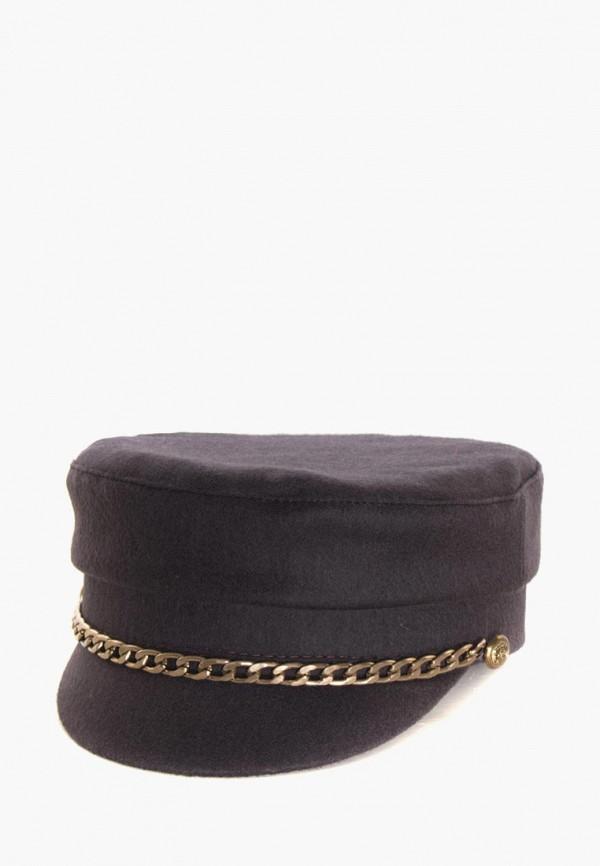 женская кепка anna bask, коричневая