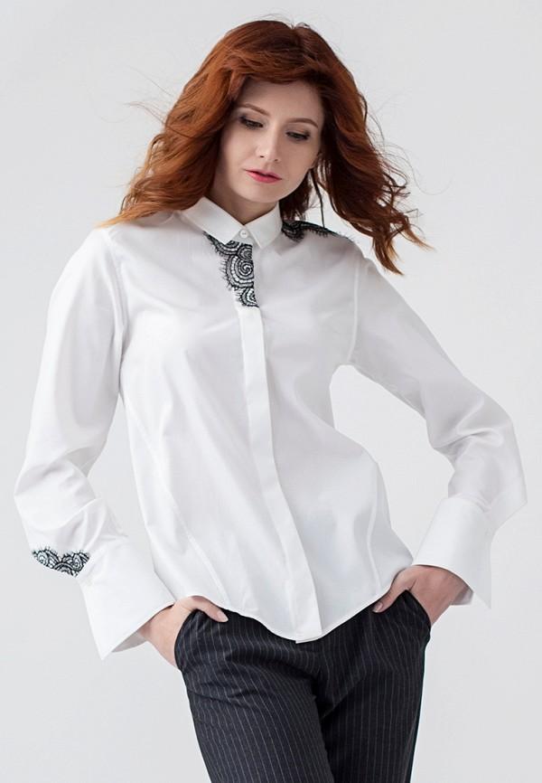 женская рубашка с длинным рукавом strygina, белая