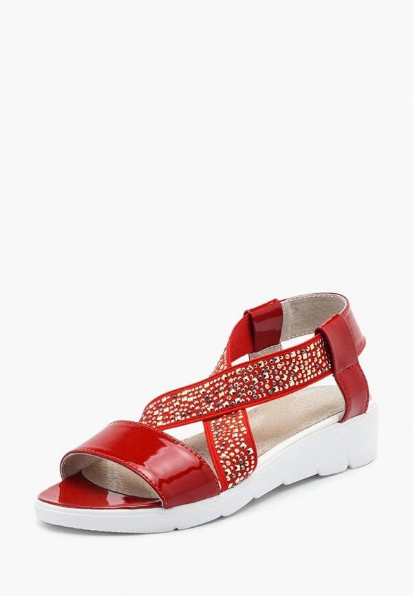 женские сандалии tops, красные