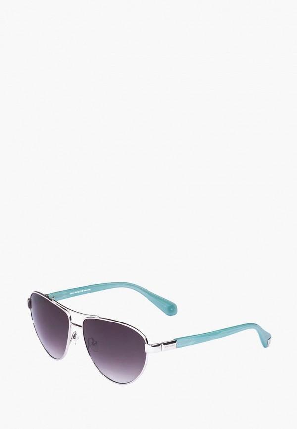 женские солнцезащитные очки enni marco, бирюзовые